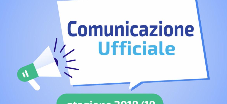comunicazione ufficiale